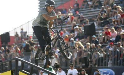 X Games Los Angeles: BMX Street.