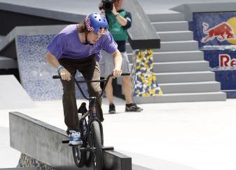 Bruno Hoffmann bei den X Games in Barcelona.